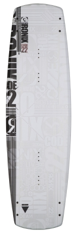Ronix - 2015 Code 22 Intelligent Core 143 Wakeboard - The White Album