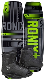 Ronix - 2015 District 143 w/Divide Wakeboard Package