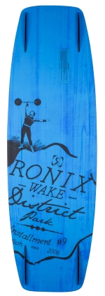 Ronix - 2015 District Park 134 Wakeboard - GP Yellow/Psycho Green
