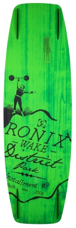 Ronix - 2015 District Park 143 Wakeboard - GP Yellow/Psycho Green