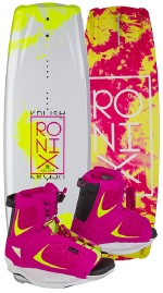 Ronix - 2015 Krush 128 w/Luxe Wakeboard Package