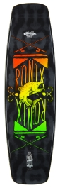 2015 Kinetik Project Small Wakeboard - Black/Fresh Bait