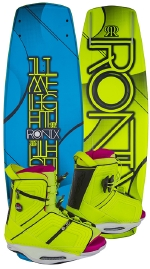Ronix - 2015 Limelight ATR SF 132 w/Halo Wakeboard Package