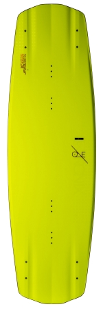 Ronix - 2015 One ATR S 142 Wakeboard - Matte Nuclear Yellow