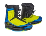 2016 One Wakeboard Bindings - Optic Yellow / Anodized Azure