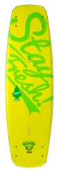 "2016 Bill ATR ""S"" Edition 135 Wakeboard - Matte Yellow / Lime"