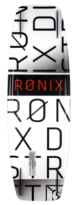 Ronix - 2016 District 143 Wakeboard - White / Caffeinated Red
