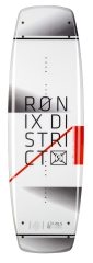 Ronix - 2016 District 134 Wakeboard - White / Caffeinated Red