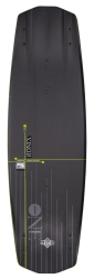 2016 One Time Bomb Core 134 Wakeboard - Anodized Black