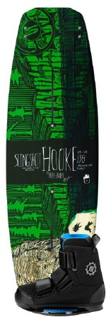 Slingshot - 2012 Hooke w/KTV Wakeboard Package