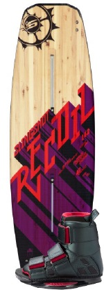 Slingshot - 2012 Recoil w/Verdict Wakeboard Package