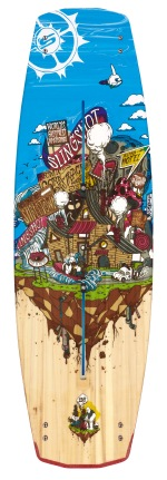 Slingshot - 2012 Shredtown Wakeboard