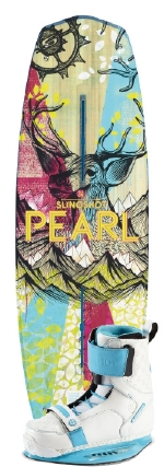 Slingshot - 2014 Pearl w/Jewel Wakeboard Package