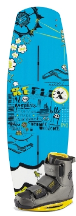 Slingshot - 2014 Reflex w/KTV Wakeboard Package