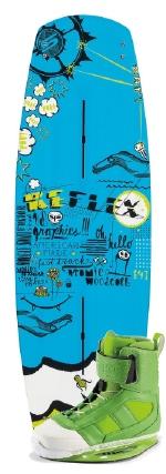 Slingshot - 2014 Reflex w/RAD Wakeboard Package