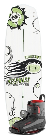 Slingshot - 2014 Response w/Option Wakeboard Package