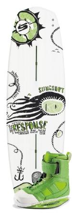Slingshot - 2014 Response w/RAD Wakeboard Package
