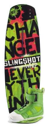 Slingshot - 2014 Whip w/RAD Wakeboard Package