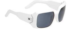 Spy Sunglasses - Eliza Sunglasses - White/Grey