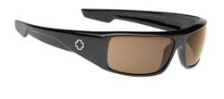 Spy Sunglasses - Logan Sunglasses - Black/Bronze