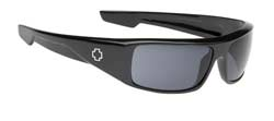 Spy Sunglasses - Logan Sunglasses - Black/Grey