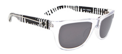 Spy Sunglasses - Kubrik Sunglasses - Ken Block Clear Grips/Grey