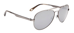 Spy Sunglasses - Parker Sunglasses - Antique Silver/Grey w/Black Mirror