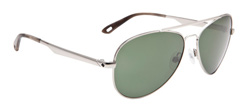 Spy Sunglasses - Parker Sunglasses - Silver/Grey Green