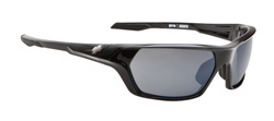 Spy Sunglasses - Quanta Sunglasses - Shiny Black/Grey w/Black Mirror