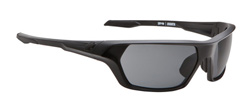 Spy Sunglasses - Quanta Sunglasses - Matte Black/Grey Polarized