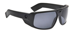 Spy Sunglasses - Touring Sunglasses - Matte Black/Grey