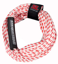 Straight Line - Supreme Red Tube Rope - 2 Person