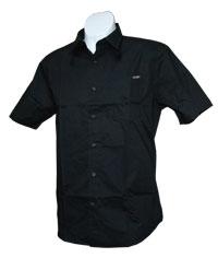 Volcom - XYZ Solid Short Sleeve Woven