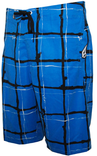 Volcom - Maguro Plaid - Men's Boardshorts