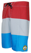 Ozzie Wright Stripe - Men's Boardshorts