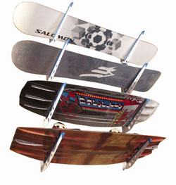 XSR - Xtreme Storage Rack - for Wakeboards and Snowboards
